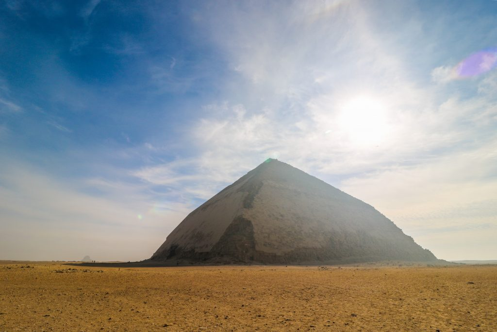 Bent pyramid, Dashur, Egypt