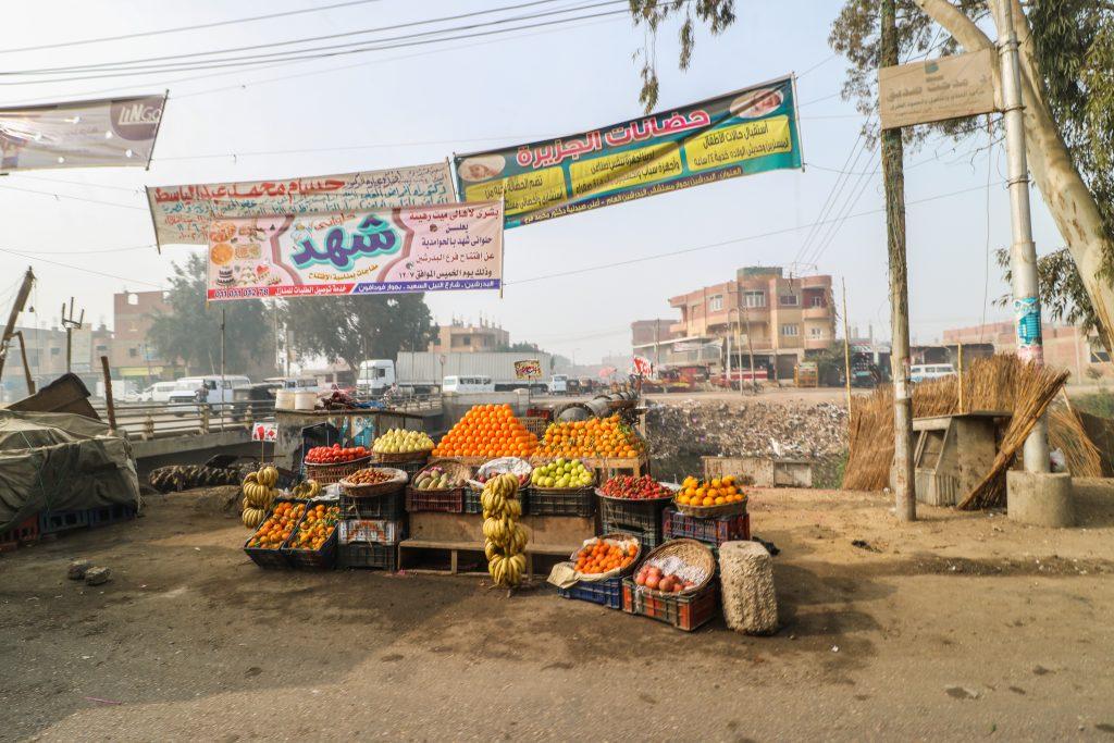 Vegetable stall, Egypt