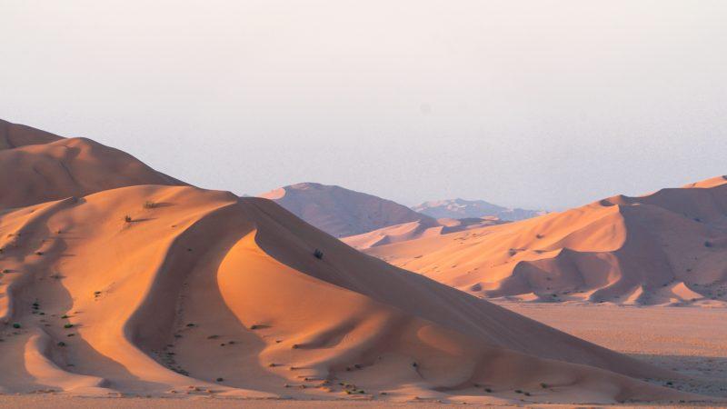 Reisroute Oman in Vier Weken