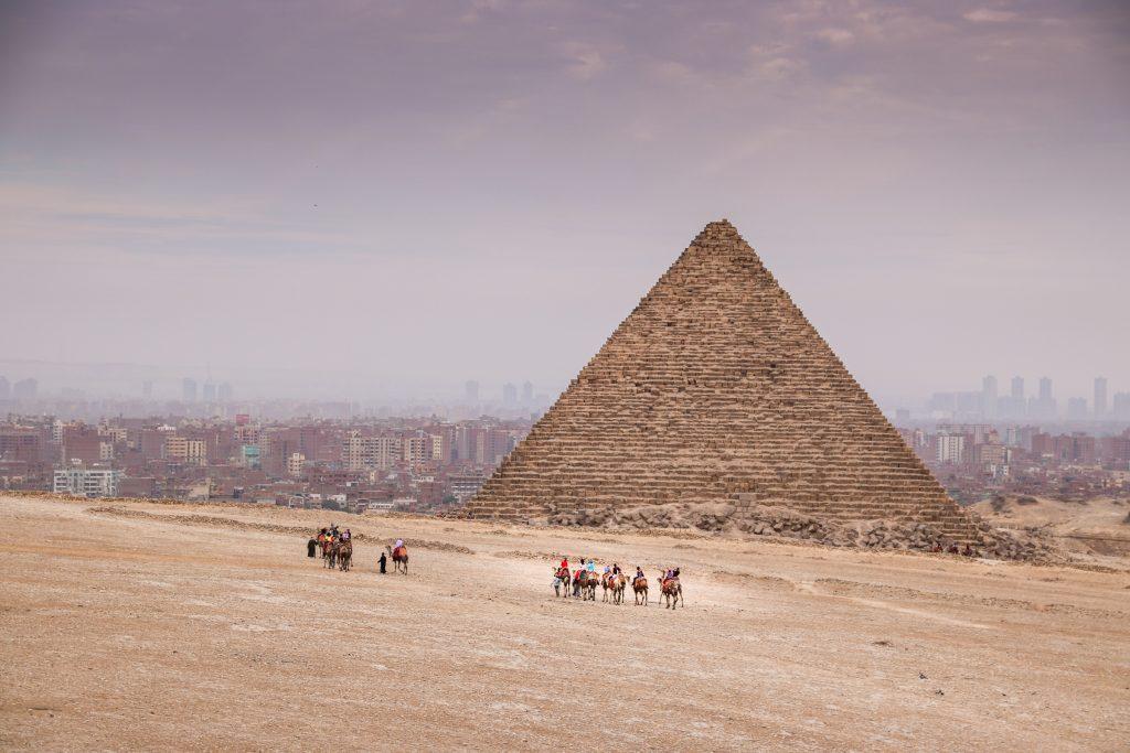 piramides van Gizeh, Egypte