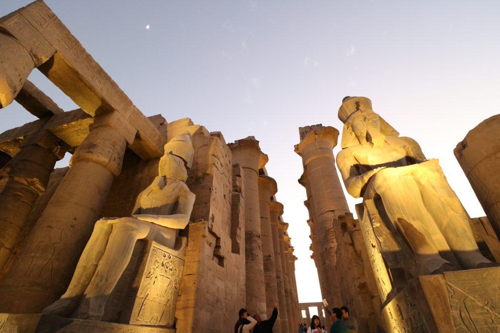Luxor tempel, Egypte