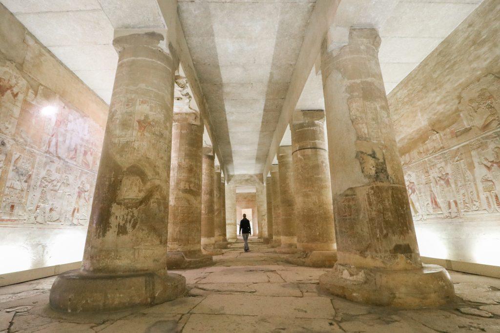 Abidous tempel, Egypte