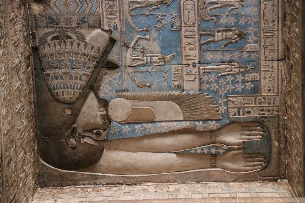 Dendera tempel, Egypte