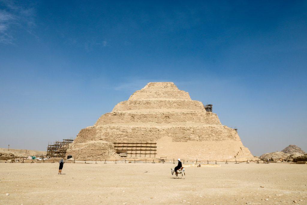 Trappiramide Djoser, Egypte