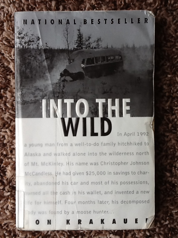 Book Cover - Jon Krakauer - Into the Wild