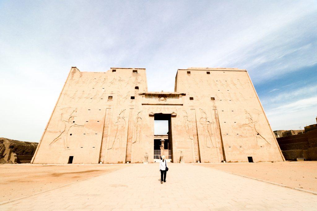 Edfu Tempel, Egypte