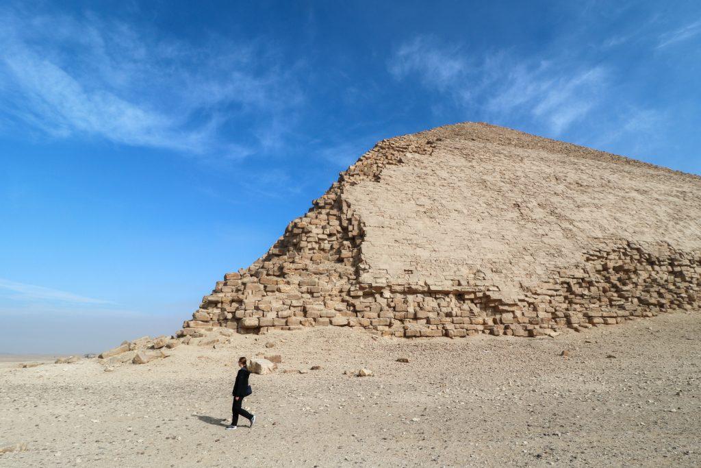 Knikpiramide bij Dashur, Egypte