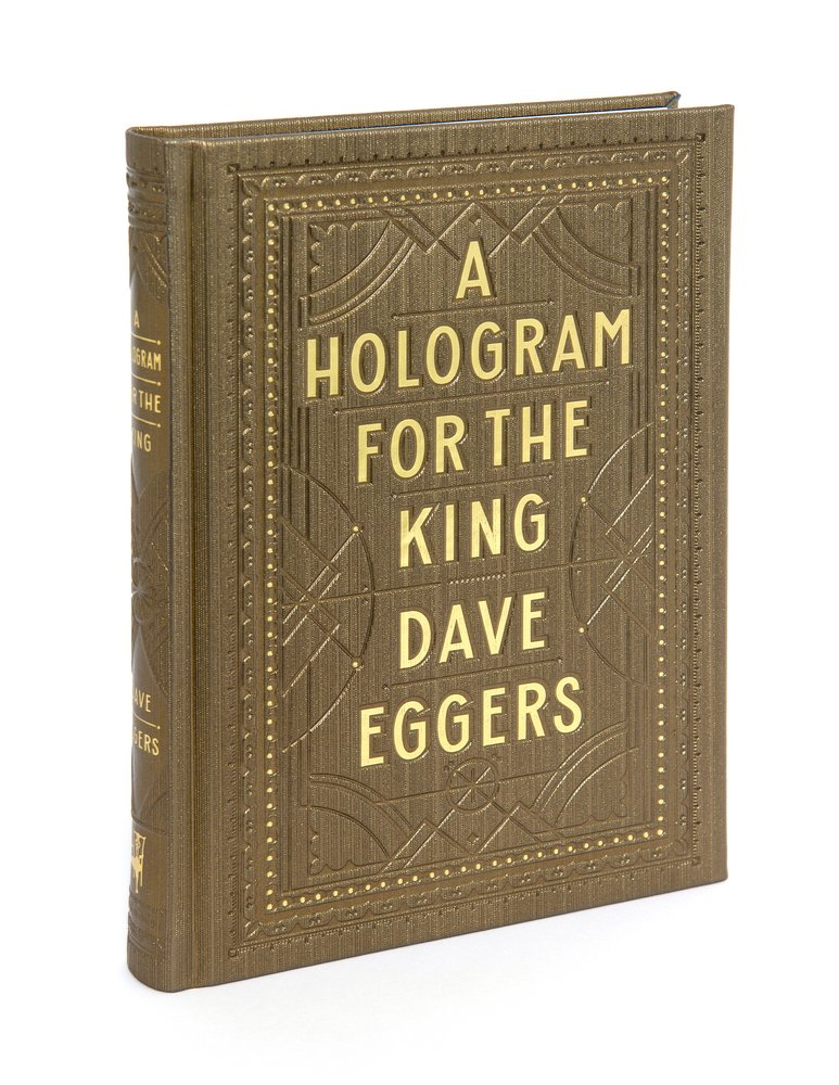 Book cover A Hologram for the King