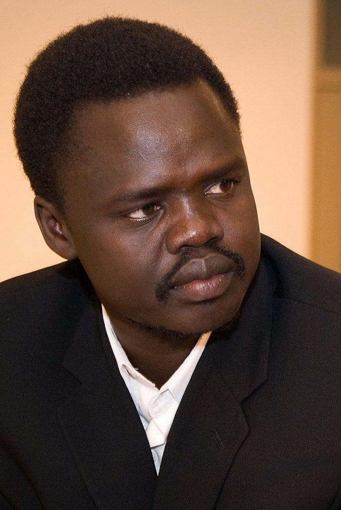 Portrait photo of Valentino Achak Deng